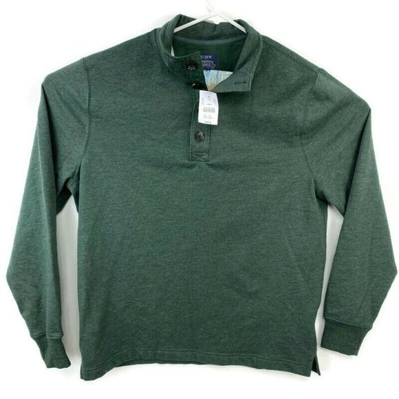 J. Crew Other - J Crew 1/4 Authentic Fleece Pullover Sweater NEW